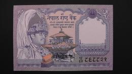 Nepal - 1 Rupee - 1991 - P 37 - Unc - Look Scan - Nepal