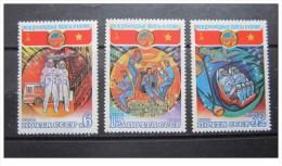 URSS - 1980 - Nuovo -  Spazio - Mi N. 4978/80 - Space