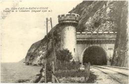 73/CPA - Ligne Aix Les Bains à Culoz - Tunnel De La Colombière - France