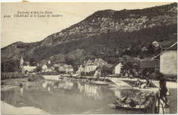 73/CPA A - Chanaz Et Le Canal De Savières - France