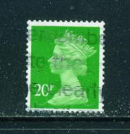 GREAT BRITAIN - 2011+ Machin 20p U-Shaped Slits Self Adhesive Used As Scan - 1952-.... (Elizabeth II)