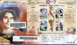 BANGLADESH 2011 Enveloppe With 2 SHEETS. - Bangladesh