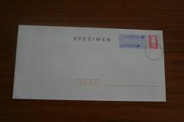 France: SPECIMEN Enveloppe Agrément N° 899 Lot 009/051 - Especimenes