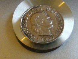 5     RAPPEN  1927 - Suiza