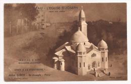 Pau - Eglise St Joseph (maquette) Aidez à La Construire - Abbé Surce - Cpsm - France