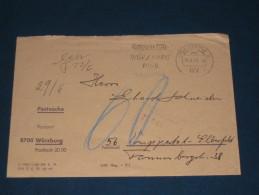 1968 Würzburg Mozartfest 1968 Mozart Musik  Komponist Freistempel Meter Mark Slogan Deutschland Germany - Machine Stamps (ATM)