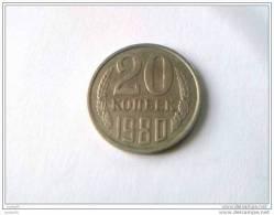 20 Kopeks 1980 - RUSSIE - Superbe - - Rusia