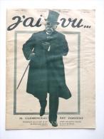 J AI VU N° 177 .  1 MAI 1918  . REVUE GUERRE 14 18 1914 1918 . MILITARIA MILITAIRE - 1900 - 1949