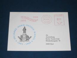 1995 Kiel 100 Jahre Nord Ostsee Kanal Freistempel Meter Mark Slogan Deutschland Germany - Machine Stamps (ATM)