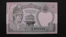 Nepal - 2 Rupees - 1995 - P 29 - Unc - Look Scan - Nepal