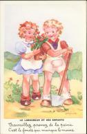 Illustrateur Lagarde - Fable De La Fontaine - Le Laboureur Et Ses Enfants - Autres Illustrateurs