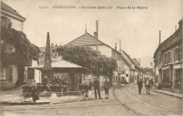 90 GIROMAGNY FONTAINE LOUIS XV PLACE DE LA MAIRIE - Giromagny