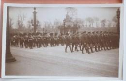 Militaria Photo Funerailles Du Marechal Foch 1926 Delegations Militaires Americaine Et Anglaise H PARIS PARFAITE - Funérailles