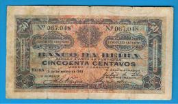 MOZAMBIQUE - Banco De Beira - 50 Centavos 1919 P-R6 - Mozambique