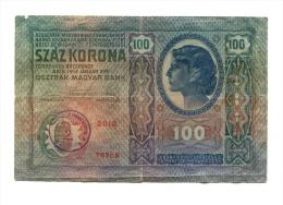 Croatia Serbie Serbia Ovp Austria Hungary - CROATIA SEAL 100 Kronen 1912 - Croatia