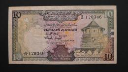Sri Lanka - 10 Rupees - 1982 - P 92a - VF/F - Look Scan - Sri Lanka