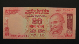 India - 20 Rupees - 2002 - P 89Ad - Unc - Look Scan - Indien
