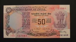 India - 50 Rupees - 1977-82 - P 83d - Unc - Look Scan - Indien