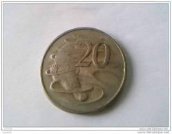 20 Cents 1966 - Elizabeth II - AUSTRALIE - - Monnaie Décimale (1966-...)