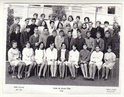 158D) D02 - LAON - LYCEE DE JEUNE FILLE ANNEE 1967-1968 - Reproductions