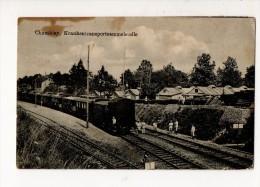 54-2174  Gare Hôpital - Guerre 1914-18