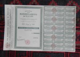 INDOCHINE PLANTATIONS D´HEVEAS DE XUAN-LOC Action De 5000 Francs SAIGON 1956 - Asie