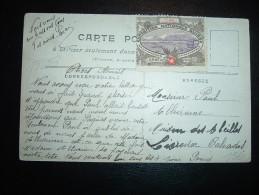 CP PARIS INONDE JANVIER 1910 + VIGNETTES COURSES DE LA CAPELLE ET EXPOSITION NATINALE SUISSE - Autres