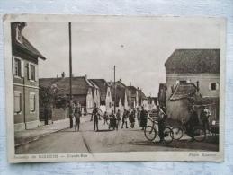 Cpa Souvenir De RIXHEIM- Grande Rue- Photo Kanitzer(scan Dos) - France