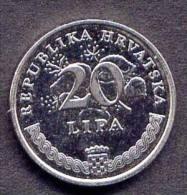 Pièce 20 Lipa Croatie 2003 - Croatie