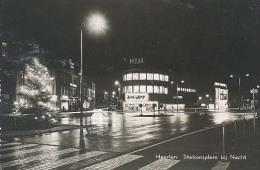 Heerlen, Stationsplein Bij Nacht - Heerlen