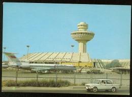 Stationery Card 1984 Mint USSR RUSSIA Armenia Yerevan Caucasus Airport Airplane - 1923-1991 USSR