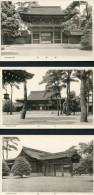 Japan - Temple Shrine - Fine Unused Postcards X 5 - Japan