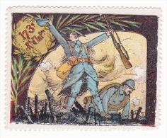 Vignette Militaire Delandre - 173ème Régiment D´infanterie - Vignettes Militaires