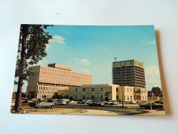 Carte Postale Ancienne : NORFOLK : New City Hall Square - Norfolk