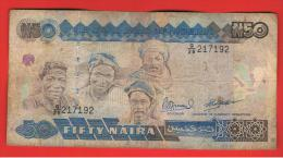 NIGERIA - 50 Naira ND  P27c - Nigeria