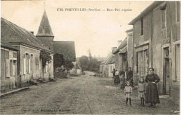 SARTHE 72.PREVELLES RUE PRINCIPALE - France