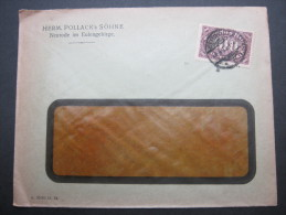 1923, Firmenlochung, Perfin, Brief Aus Neurode - Briefe U. Dokumente