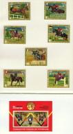 Guinée Équatoriale  Equitation   7 Timbres Et 1 Bloc  Tous * MH - Summer 1972: Munich