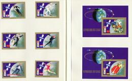 1972  Jeux Olympiques De Sapporo  Médaillés D'or  6 Timbres Et 2 Blocs     Tous * MH - Chad (1960-...)