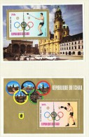 1972  Jeux Olympiques De Munich  2 Blocs    Boxe, Lancer Du Marteau  Tous * MH - Chad (1960-...)