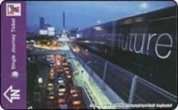 Thailand Prepaidcard  BTS Eisenbahn Train Zug - Eisenbahnen