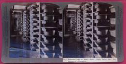 001 - DANEMARQUE - Centaines De Fromages, Dans La Plus Grande Fromagerie Du Monde HASLEV - Photos Stéréoscopiques