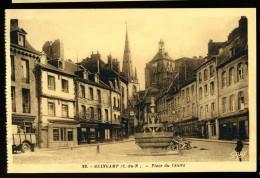 Cpa Du 22 Guingamp Place Du Centre    MABT28 - Guingamp
