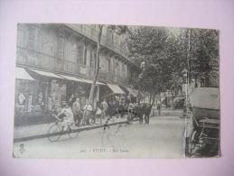 Dép. 03 - CP N° AN154 - Vichy, Rue Lucas, Animée - CPA/E 1923 (état) - Vichy