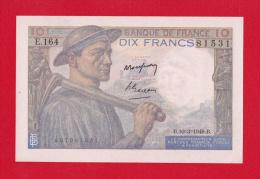 """BILLET DE 10  FRANCS  """"MINEUR""""  DU  10-3-1949  E.164 - 10 F 1941-1949 ''Mineur''"""