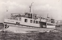SHIPPING - 'LADY JULIANA'. - Bateaux