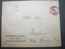1923, Firmenbrief Aus Berlin, Judaica - Briefe U. Dokumente