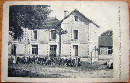 Cpa SOMMIERES DU CLAIN 86 Ecole De Sommières Et Mairie - Altri Comuni
