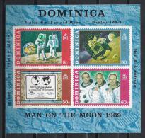ESPACIO - DOMINICA1970 - Yvert #H2 - MNH ** - Raumfahrt