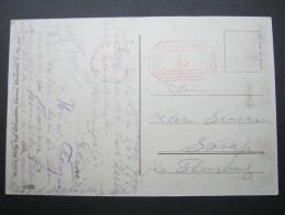 1932, Freistempel Auf Karte Aus Potsdam - Germany